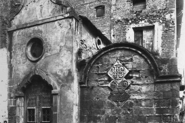 Capella dels Àngels I Font de Mitja Vila (inicis del s. XX). Fons municipal.