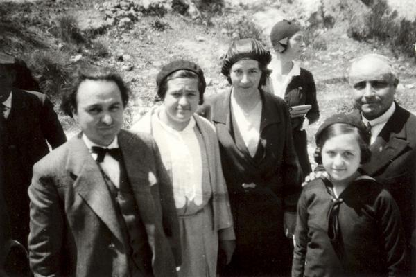 Ventura Gassol i Joan Puig i Ferreter (1931). Fons Murgadas.