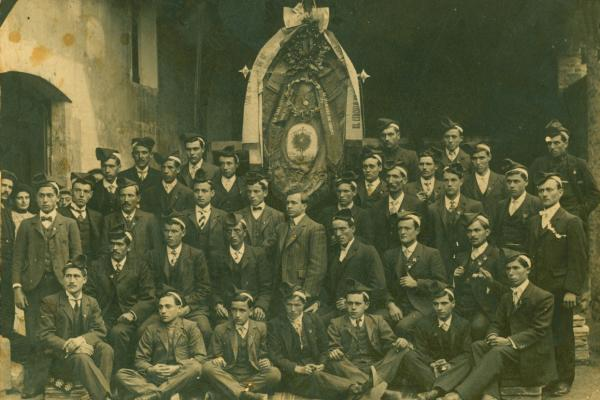 La Lira Silvense (circa 1900). Fons municipal.