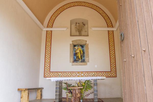 Interior de Sant Pere (s. XIX). Fons municipal.