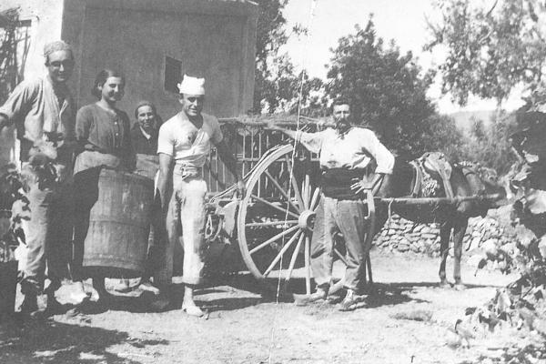 Pagesos del Sindicat de Sant Andreu (1918). Fons Murgadas.