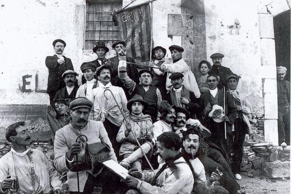 "Grup ""El Pensil"" (circa 1910-1920). Fons municipal."