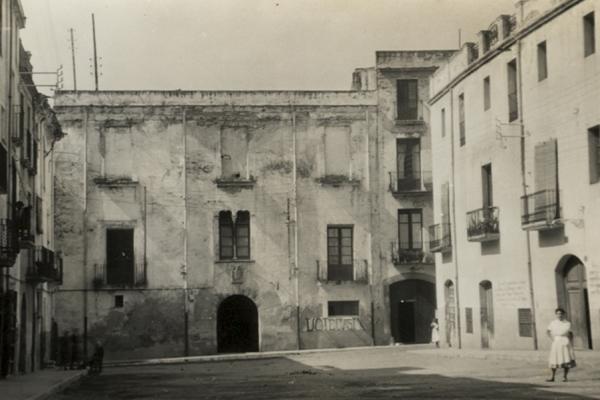 Casa de la Vila (circa 1950). Fons municipal.