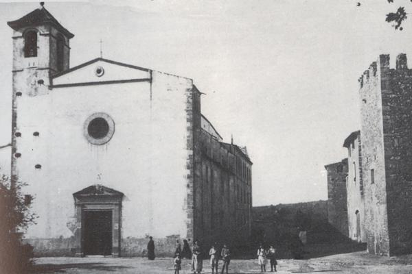 Sant Agustí (principis del segle XX). Fons municipal.