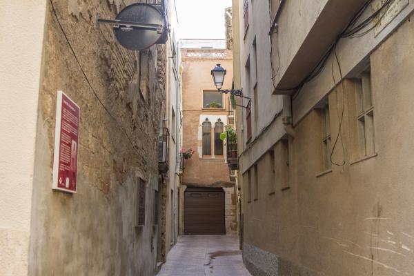 Façana de la Casa de la Vila Vella. Fons municipal.