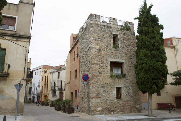 Portal de Sant Antoni. Plaça de la Palma